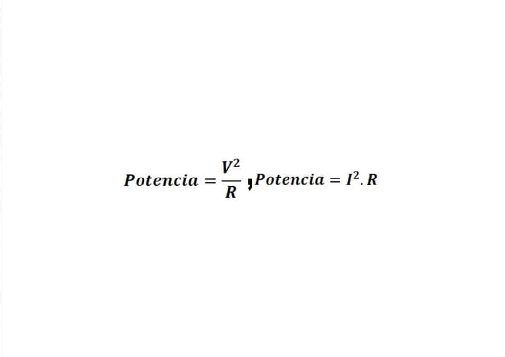 formula potencia