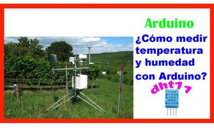 ¿Cómo medir temperatura y humedad con sensor dht11 y Arduino?