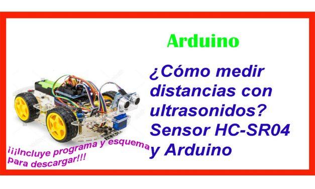 ¿Cómo medir distancias con Arduino?