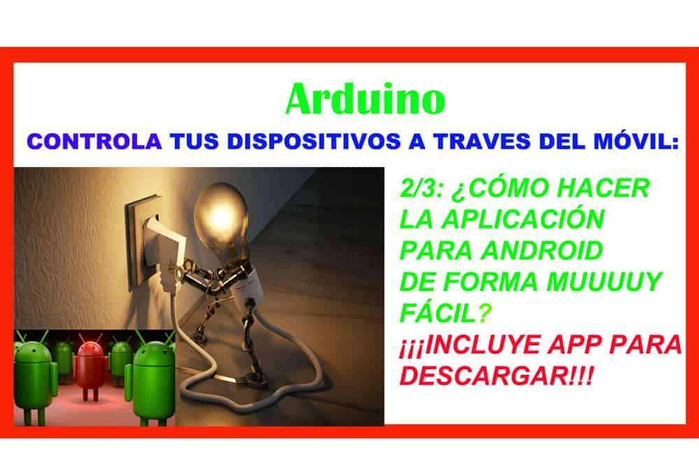 Bluetooth app Android Arduino