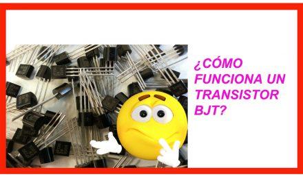 Transistor bjt, funcionamiento