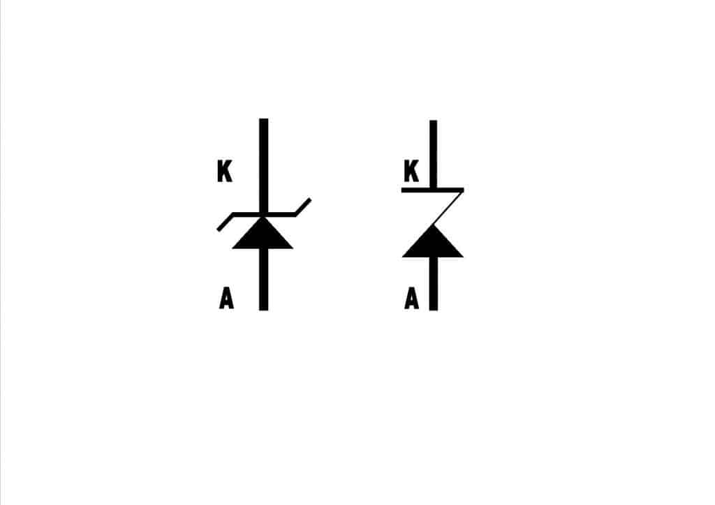 zener simbolo
