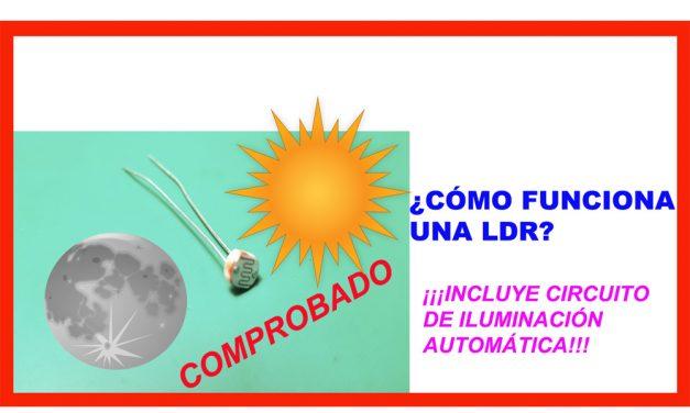 LDR resistencia dependiente de la luz