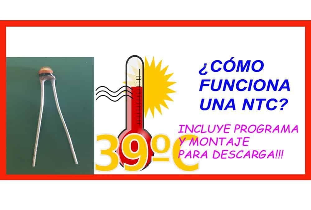 Funcionamiento de una NTC control de temperatura
