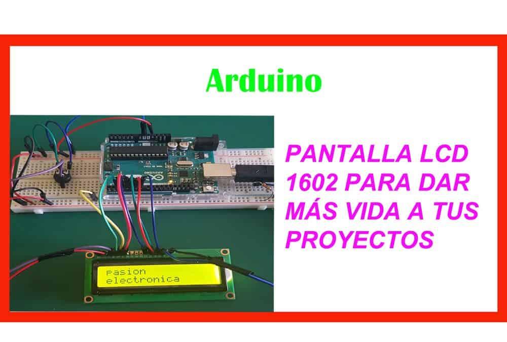 Pantalla LCD 1602A