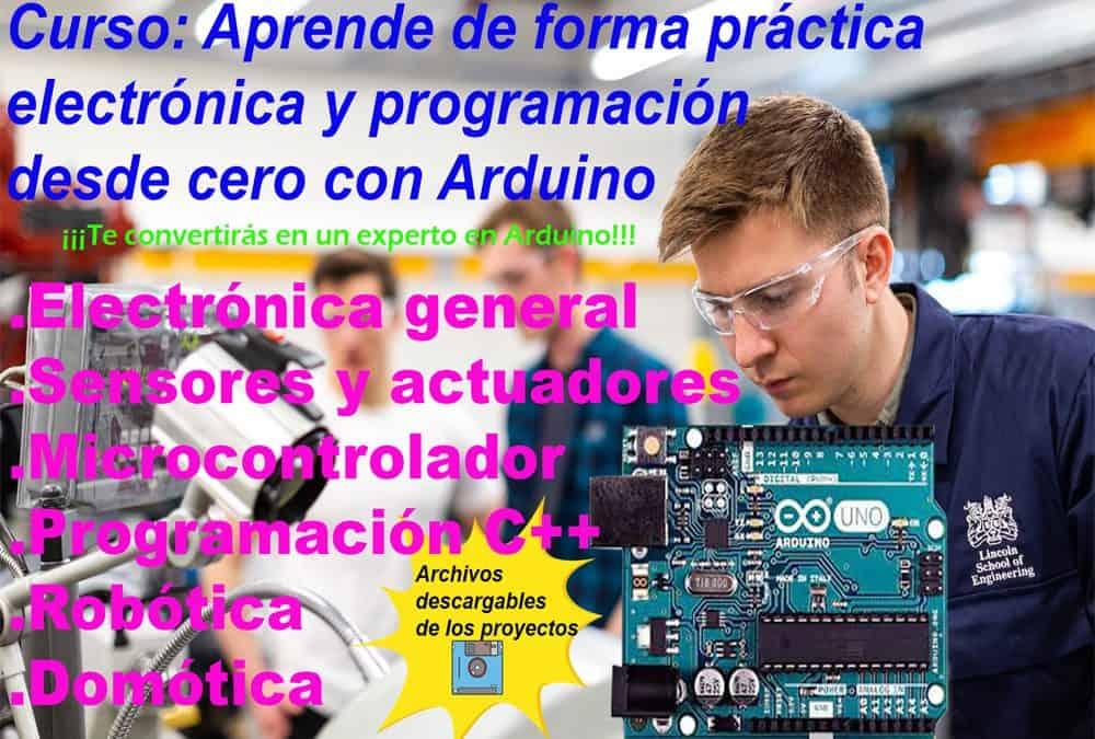 El curso más completo de Arduino