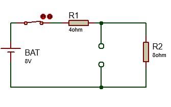 circuito bobina instante inicial