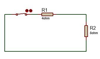Circuito equivalente aplicando teorema de Thevenin